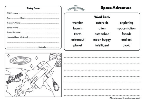 Space Story Template Thumbnail