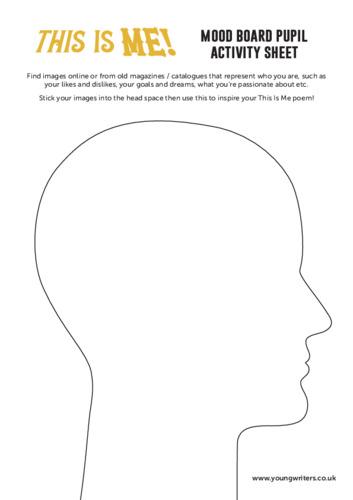 Mood Board Activity Sheet Thumbnail