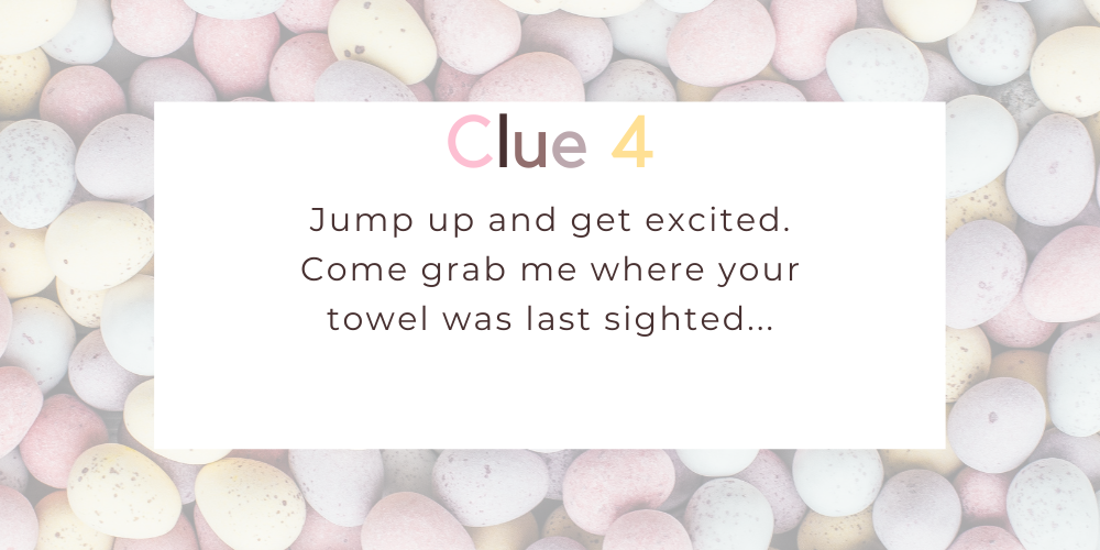 Spruce up your Easter with these eggciting Easter egg hunt clues. Image 3