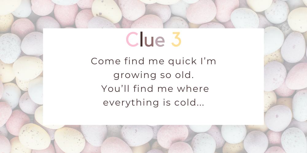 Spruce up your Easter with these eggciting Easter egg hunt clues. Image 2