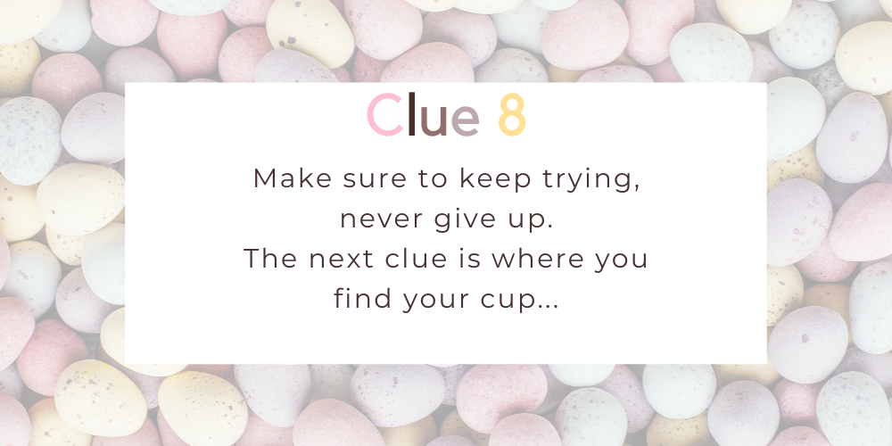 Spruce up your Easter with these eggciting Easter egg hunt clues. Image 7