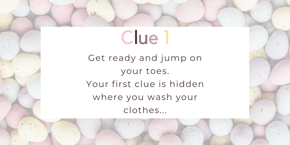 Spruce up your Easter with these eggciting Easter egg hunt clues. Image 0