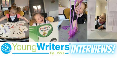 Overcoming adversity: How amazing Amelia wrote a story using just her eyes Thumbnail