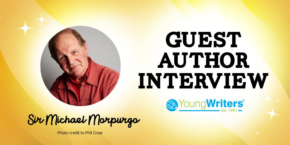 Sir Michael Morpurgo Interview Header Image