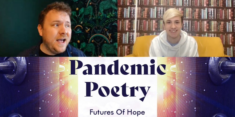 Poet, storyteller, and rapper Mark Grist talks with us about Pandemic Poetry and the power of writing Header Image