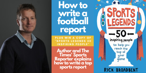 How to Write a Brilliant Football Report - From author and The Times reporter Rick Broadbent Thumbnail