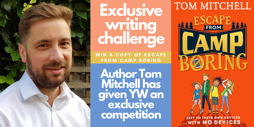 Tom Mitchell – Guest author writing challenge Header Image