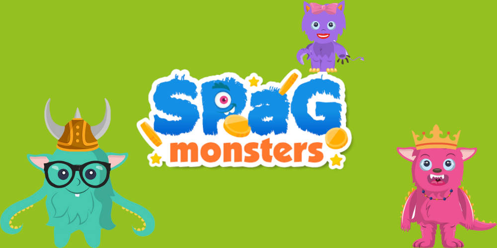 The SPaG Monsters have arrived and they're here to spread a love of literacy learning Header Image