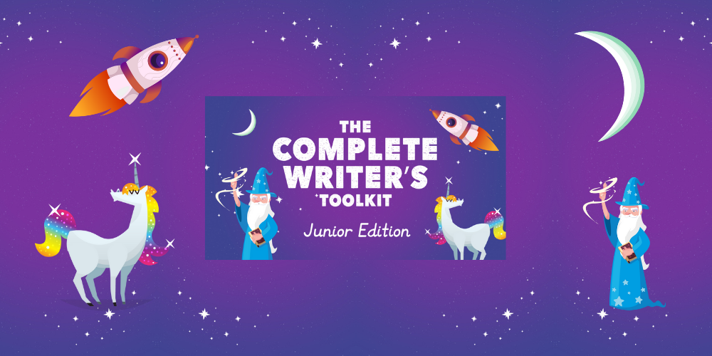 The Complete Writer's Toolkit – Junior Edition is out now! Header Image