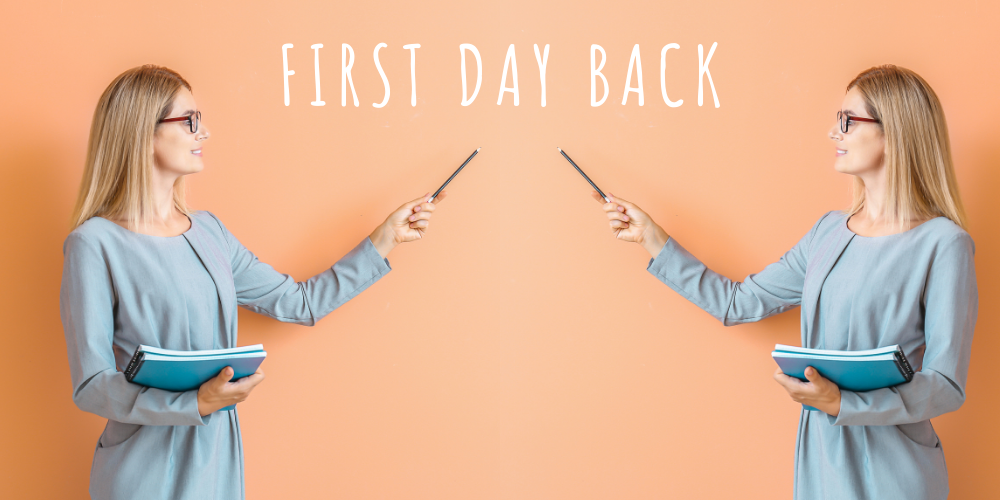 How to give your pupils the best first day back Header Image