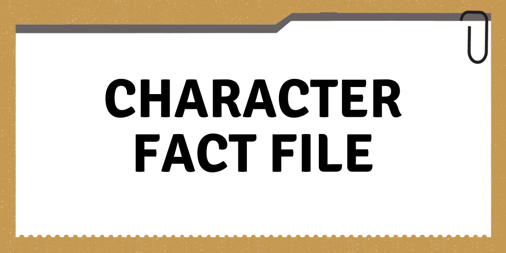 Junior Toolkit Writing tip - The Character Fact File Header Image