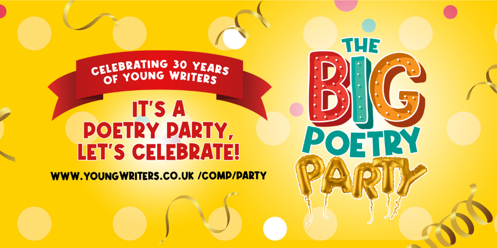 It's our 30th birthday and you're invited to The Big Poetry Party Header Image