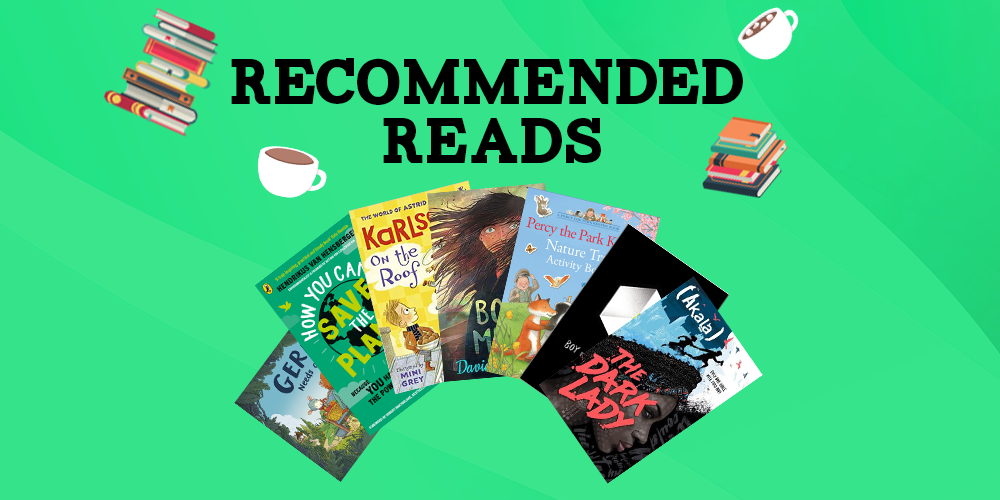 Recommended Reads - May 2021 Header Image