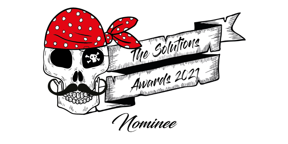 We've made it to the finals of the 2021 Solutions Awards, but we need your help! Header Image