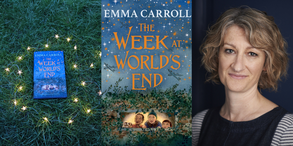 Exclusive writing challenge from author Emma Carroll  Header Image