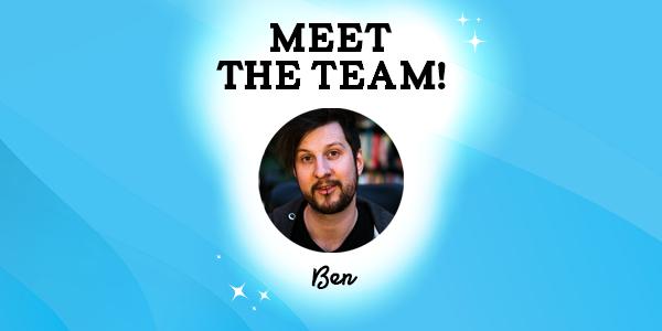 Meet the team- Ben Reeves, Programmer and Business Developer Thumbnail