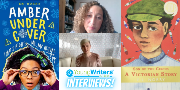 Author Em Norry talks Amber Undercover and how to become a writer Thumbnail