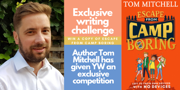 Tom Mitchell – Guest author writing challenge Thumbnail