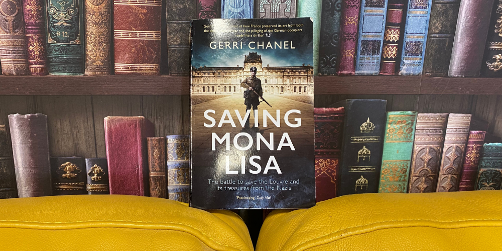 Saving Mona Lisa – Our first adult book review! Header Image