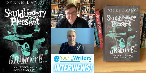 Author Derek Landy talks all things Skulduggery Pleasant and the new Grimoire Thumbnail