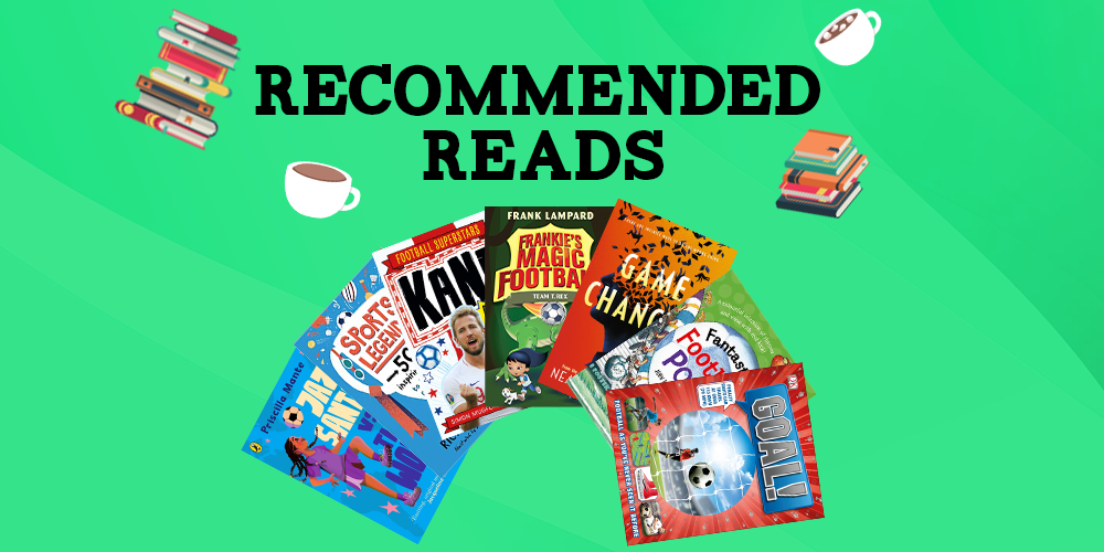 Football Themed Recommended Reads Header Image