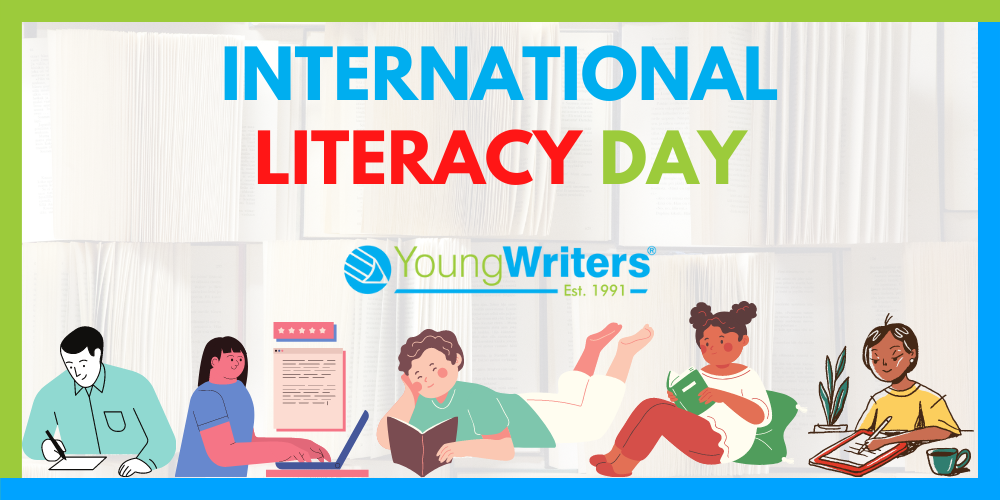 Join in the International Literacy Day fun! Header Image