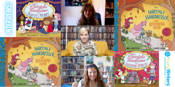 Abie Longstaff and Lauren Beard talk about the latest book in the Fairytale Hairdresser series Thumbnail
