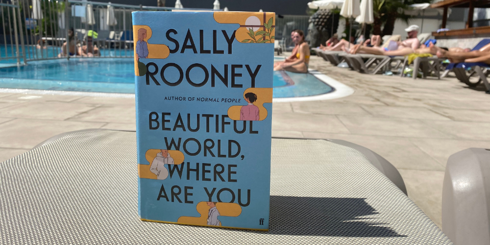 Adult Book review: Sally Rooney - Beautiful World, Where Are You? Header Image