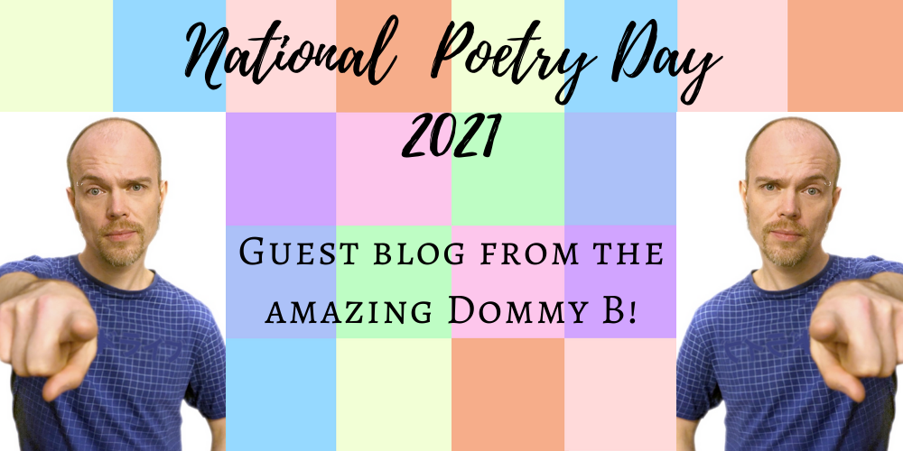 What National Poetry Day means to poet Dommy B and his tips for young poets Header Image
