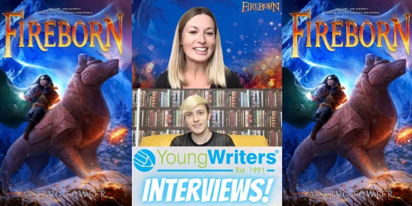 'Fireborn' the addictive new fantasy book from Aisling Fowler: Interview Thumbnail