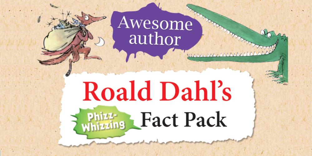The wonderful whacky world of Roald Dahl Header Image