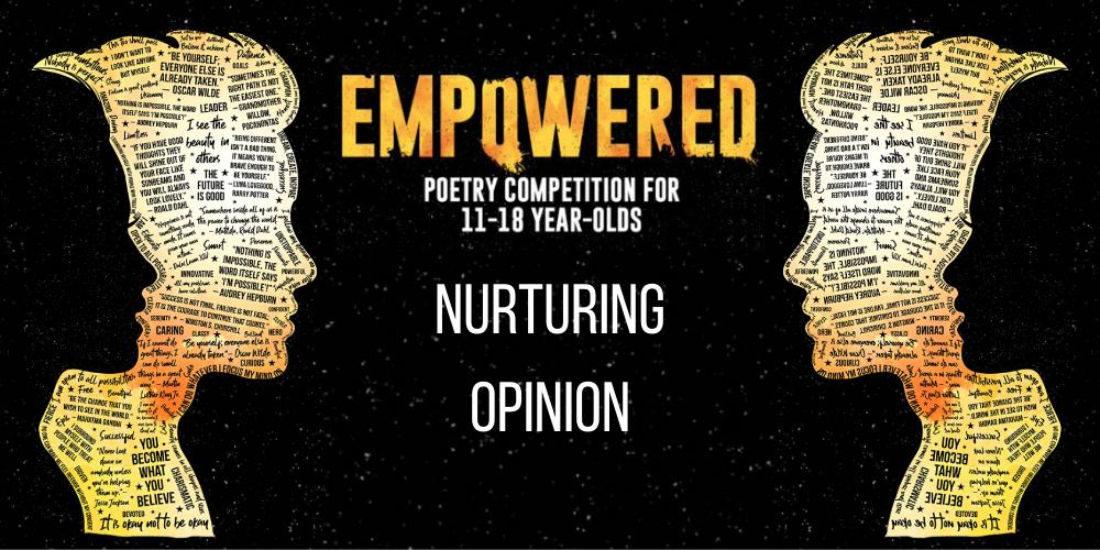 Nurturing Opinion - You have a voice! Header Image