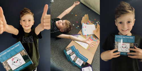 Interview with our first toolkit author! Xavier age 6 Thumbnail