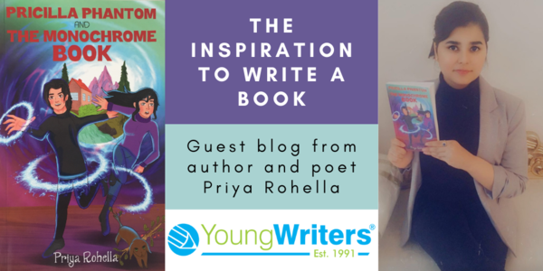 The Inspiration to write a Book - How Young Writers inspired me  Thumbnail