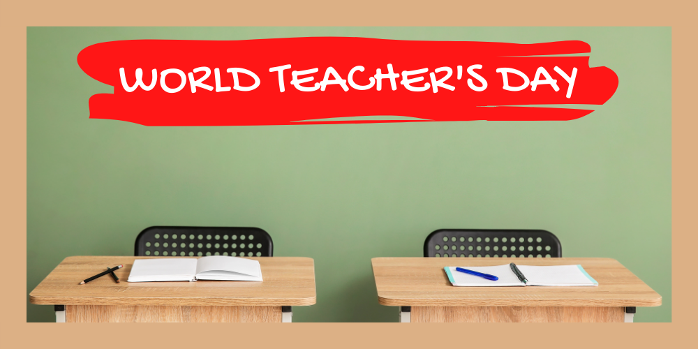 Happy Teacher's Day! Header Image