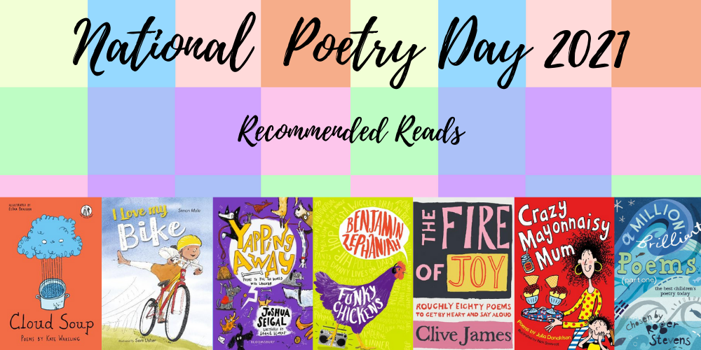 National Poetry Day recommended reads Header Image