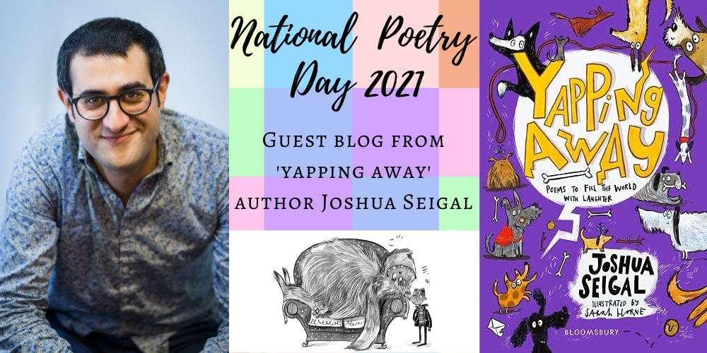Joshua Seigal's (very general) top poetry tips Header Image