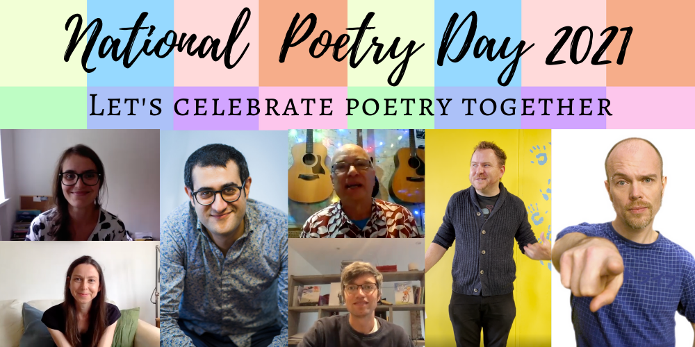 Happy National Poetry Day! Header Image