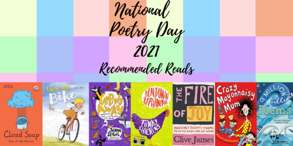 National Poetry Day recommended reads Thumbnail