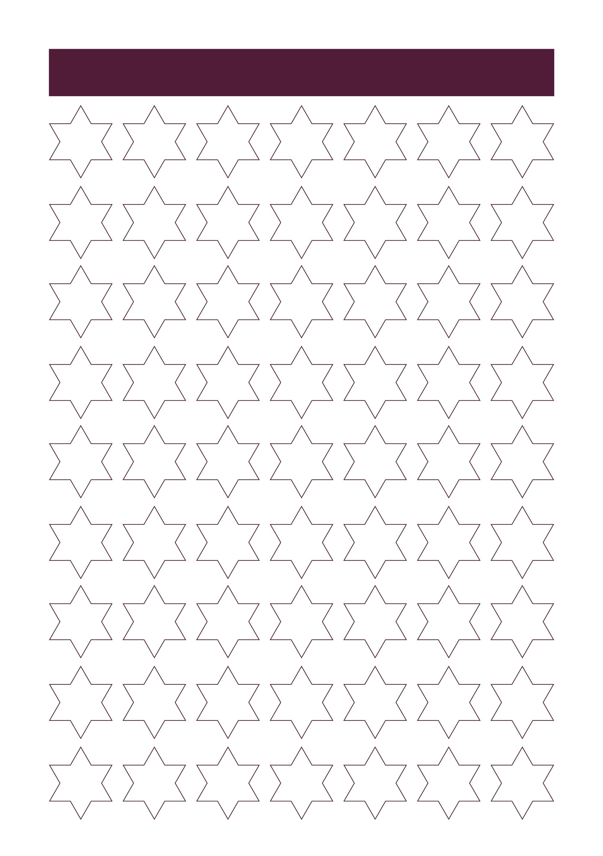 Blank Star Design