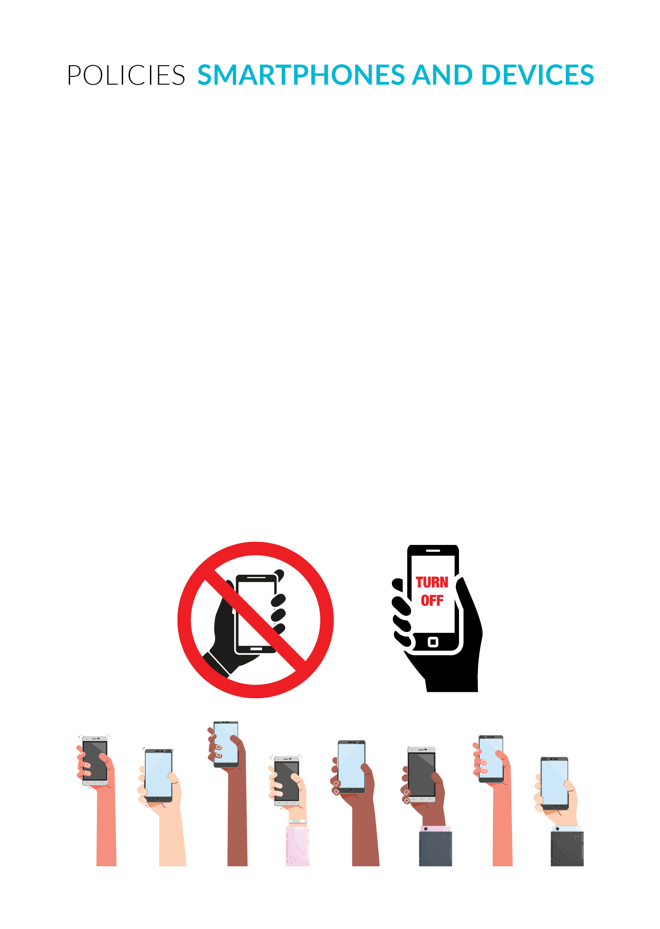 Phone Policy Blank Template
