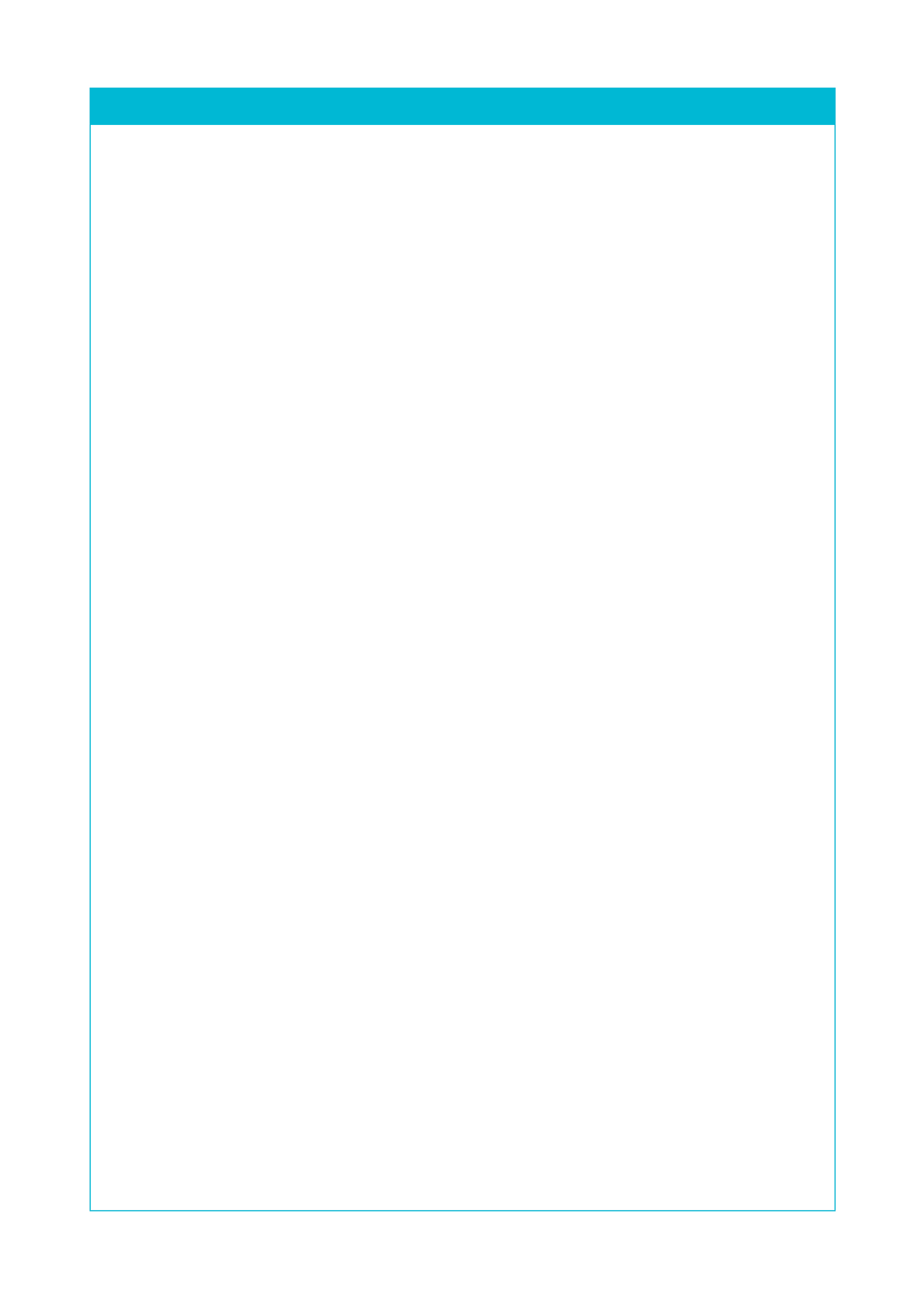 Blank Policy Page Plain