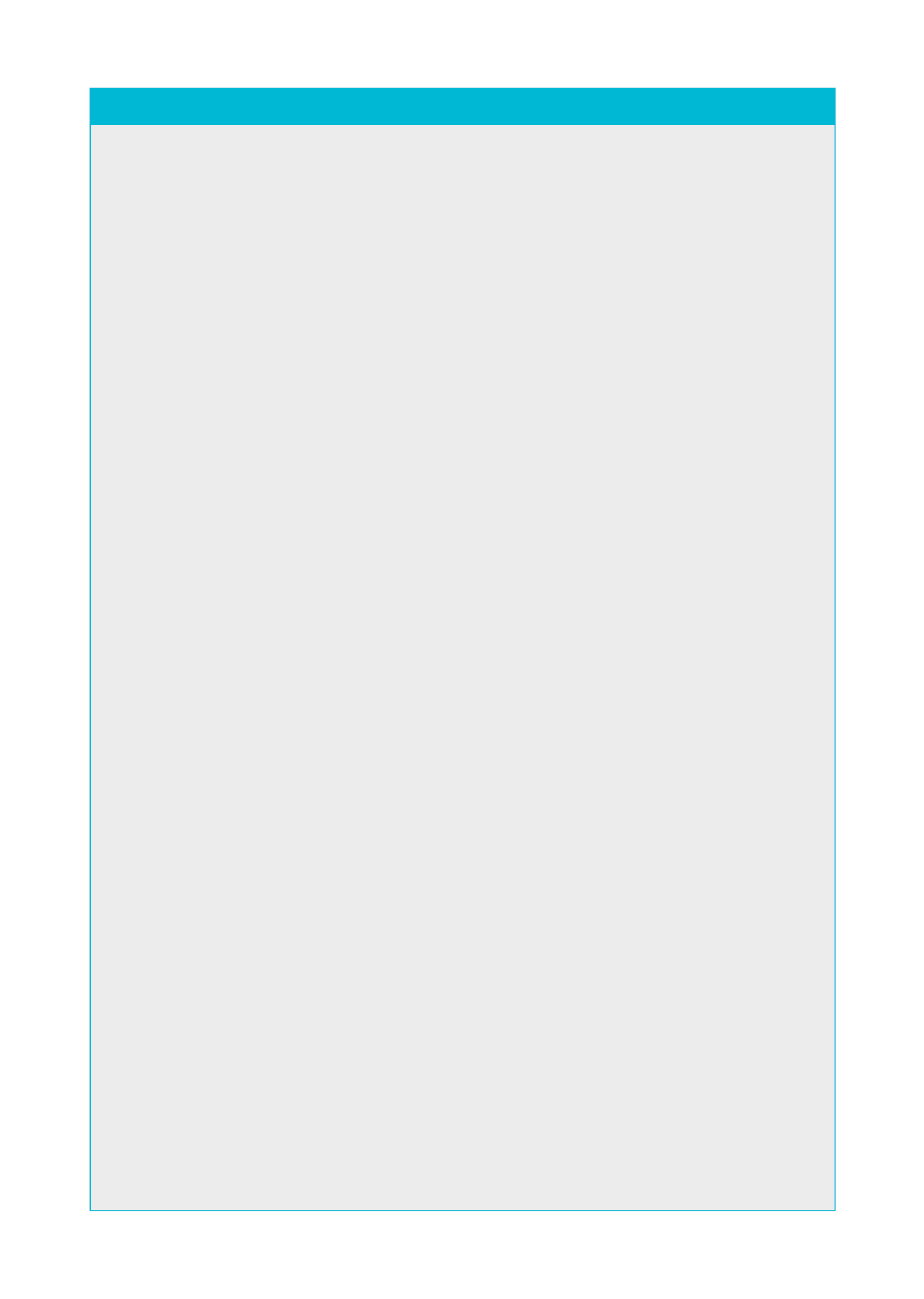 Blank Policy Page Grey