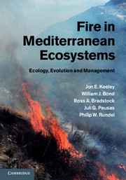 Cover of 'Fire in Mediterranean Ecosystems'