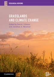 Cover of 'Grasslands and Climate Change'
