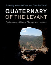 Cover of 'Quaternary of the Levant'