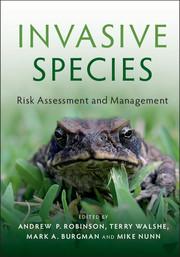 Cover of 'Invasive Species'