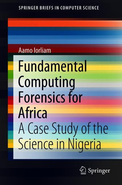 Cover of 'Fundamental Computing Forensics for Africa'