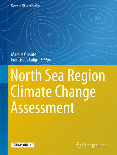 Cover of 'North Sea Region Climate Change Assessment'