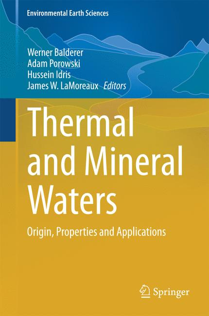 Cover of 'Thermal and Mineral Waters'